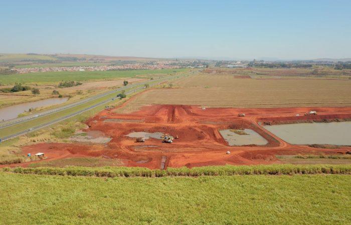 construção da Represa Santa Marina